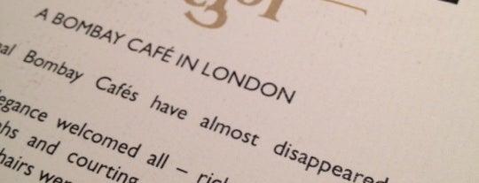 Dishoom is one of london.