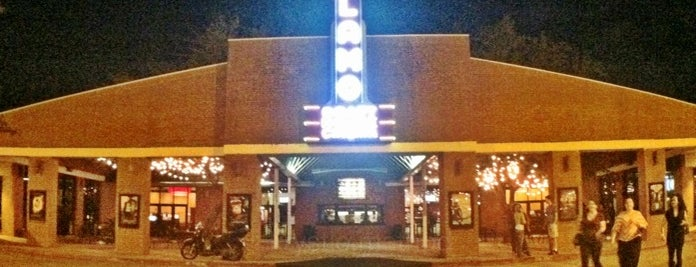 Alamo Drafthouse Cinema is one of To visit.