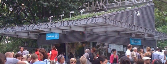 Shake Shack is one of Great food in New York City.