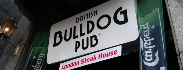British Bulldog Pub is one of Drinking.