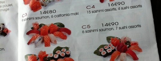 Beauséjour Sushi is one of Top spots.