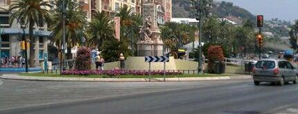 Monumento al Marqués de Larios is one of Málaga.