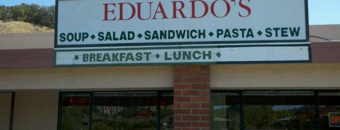 Eduardo's  Restaurant is one of Marin County, CA.