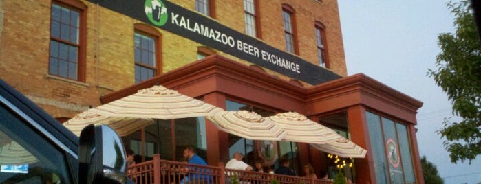 Kalamazoo Beer Exchange is one of Michigan Trip.