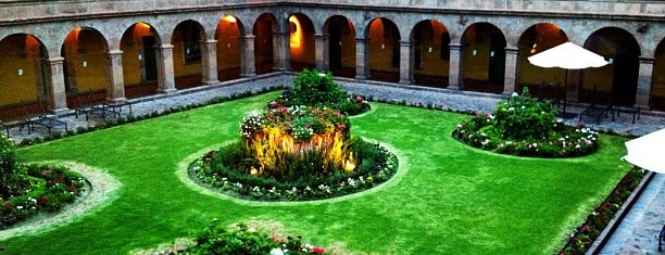 Belmond Hotel Monasterio is one of South America.