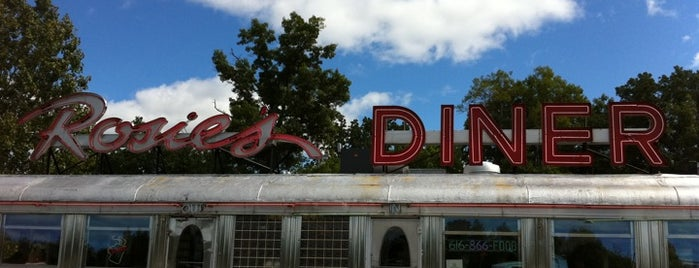 Rosie's Diner is one of Diners.