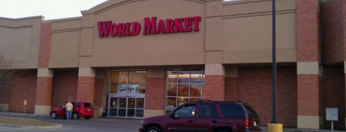 World Market is one of West Des Moines.