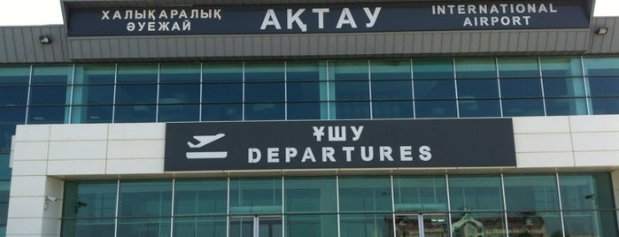 Aktau International Airport (SCO) is one of Airports Visited.