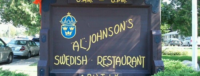 Al Johnson's Swedish Restaurant & Butik is one of Lugares favoritos de Matt.