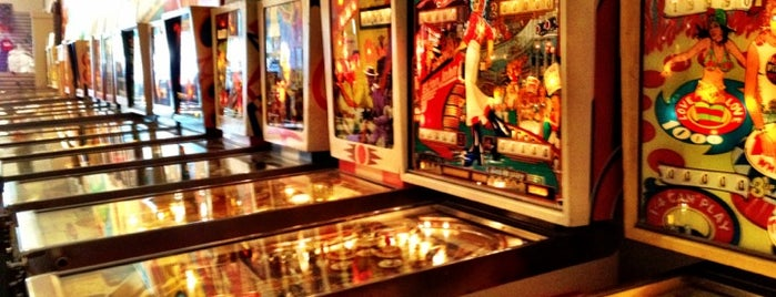 Pacific Pinball Museum is one of SF To Do.
