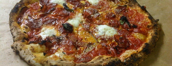 Antico Pizza Napoletana is one of Jezebel Magazine's 100 Best Restaurants 2013.