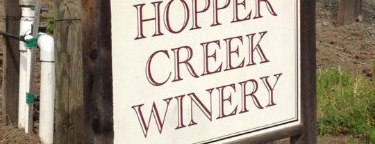Hopper Creek Winery is one of Tempat yang Disukai Jason.