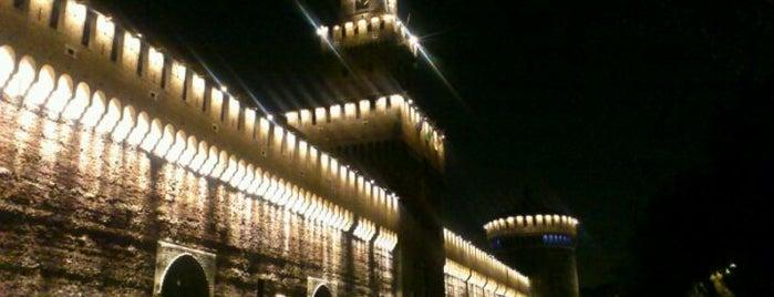 Castello Sforzesco is one of Milano.