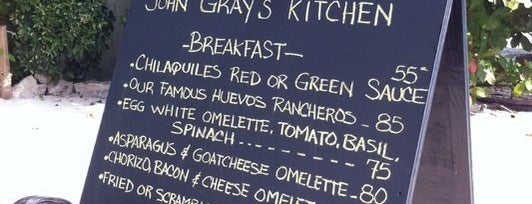 John Gray's Kitchen is one of RestO.