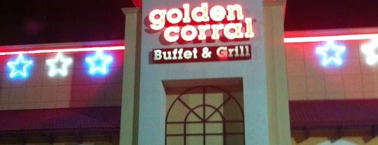 Golden Corral is one of Lugares guardados de Priscila.
