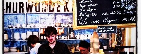 Hurwundeki Cafe is one of UK.