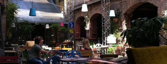 Szimpla Kert is one of Must Do's in Budapest.