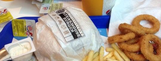 Burger King is one of สถานที่ที่ Sırma ถูกใจ.