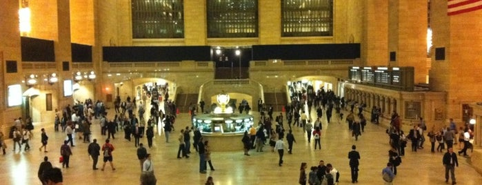 Grand Central Terminal is one of New York Sightseeing.