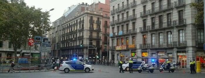 Plaça d'Urquinaona is one of Barcelona.