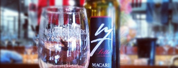 Macari Vineyards is one of North Fork Fun and Games.