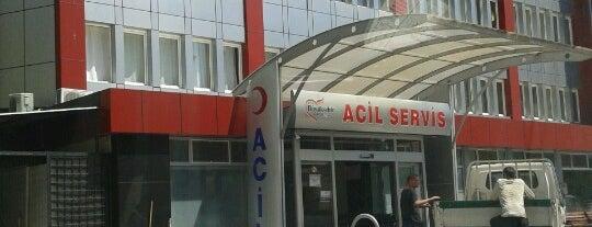 Özel Büyükşehir Hastanesi is one of Hastane.