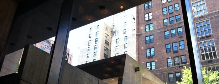 Whitney Museum of American Art is one of (architecture) in NYC.