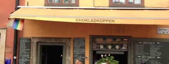 Chokladkoppen is one of Stockholm #WeAreBack.