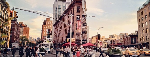 Meatpacking District is one of NY`ta görülecekler.