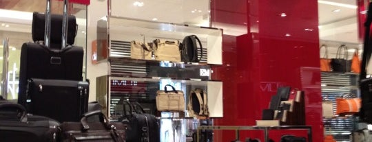 Tumi is one of shopping centers.