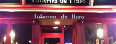 Taberna de Haro is one of BOS.