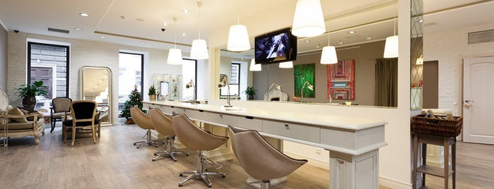 Beauty salons in Moscow