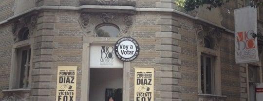 MODO Museo del Objeto del Objeto is one of MEXICO.