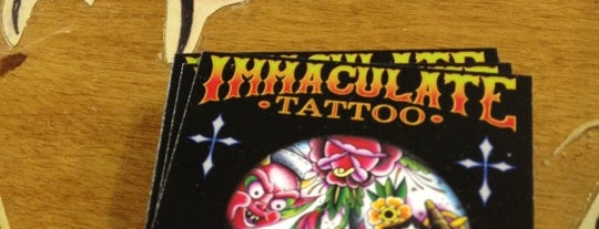 Immaculate Tattoo is one of Favorites.
