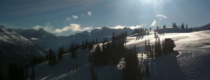 Whistler Blackcomb Mountains is one of The Ultimate Bucket List.