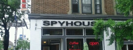 Spyhouse Coffee is one of Dessert and Coffee.