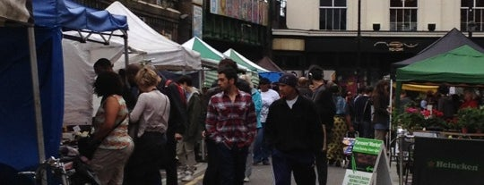 Brixton Farmers' Market is one of Markets.