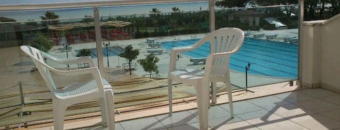 Laphetos Beach & Resort Spa is one of สถานที่ที่บันทึกไว้ของ AYŞE.