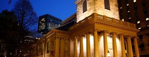 King's Chapel is one of Beantown.