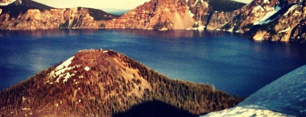 Crater Lake National Park is one of CBS Sunday Morning.