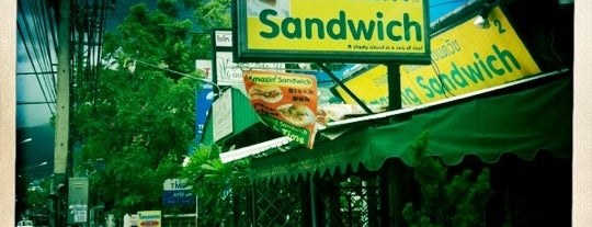 Amazing Sandwich is one of Thailand.