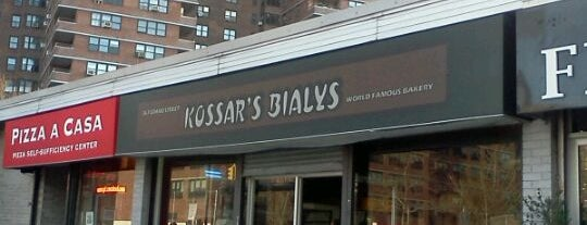 Kossar's Bialys is one of Lugares favoritos de Andrew.