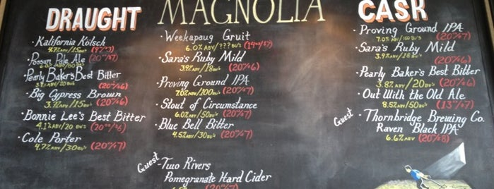 Magnolia Gastropub & Brewery is one of Beer Spots.