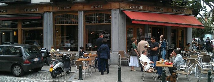 L'Ultime Atome is one of Brussels's best spots.