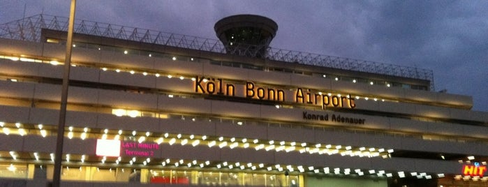 Köln Bonn Airport (CGN) is one of Airports in Europe, Africa and Middle East.