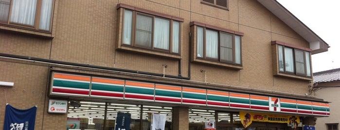 セブンイレブン 津田沼店 is one of 田舎のランドマークコンビ二@千葉・東金基点.