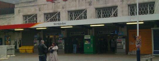 Wimbledon Railway Station (WIM) is one of United Kingdom, UK.