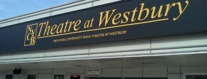 NYCB Theatre at Westbury is one of Tempat yang Disukai LIVE.