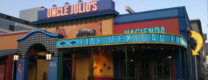 Uncle Julio's Hacienda is one of Foodie stops.