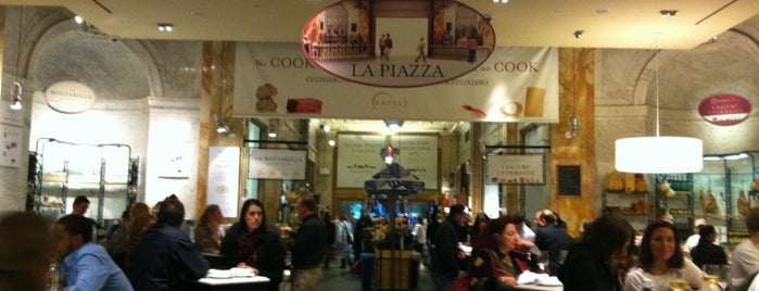 Eataly Flatiron is one of New York Eats.